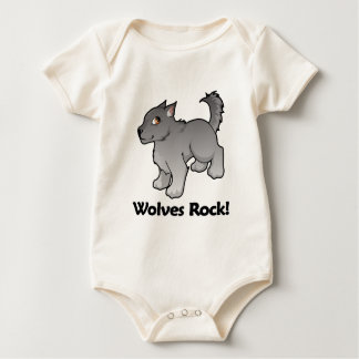 Wolves Rock! Bodysuit