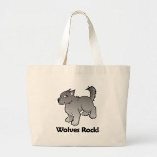 Wolves Rock! Canvas Bag