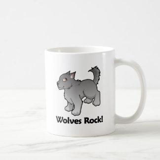 Wolves Rock! Coffee Mugs