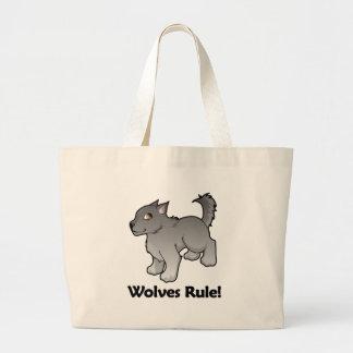 Wolves Rule! Jumbo Tote Bag