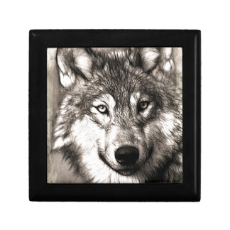 Wolves Wolf Animals Wild Nature Forest Gift Box
