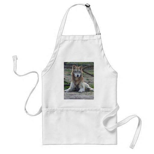 Wolves Wolf Apron
