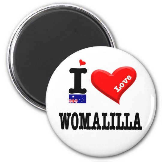 WOMALILLA - I Love Magnet