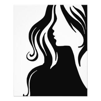 woman-311607 woman portrait girl female beautiful 11.5 cm x 14 cm flyer