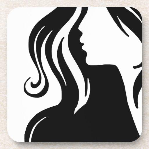 woman-311607 woman portrait girl female beautiful beverage coaster