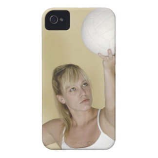 Woman about to serve volleyball Case-Mate iPhone 4 cases