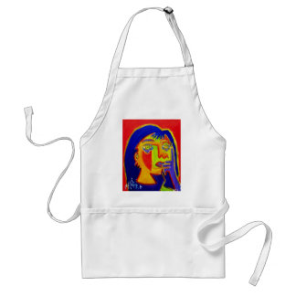Woman Abstracted by Piliero Standard Apron