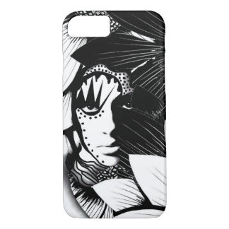 Woman amongst flowers phonecase iPhone 7 case