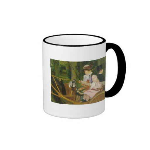 Woman and Child Driving, Mary Cassatt Mug