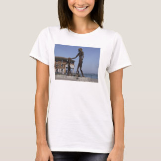 Woman and Child Sculpture T-Shirt