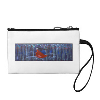 Woman and Forest Animal Spirits Coin Purse
