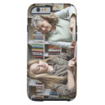 Woman and granddaughter reading together tough iPhone 6 case