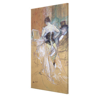 Woman at her Toilet study for Elles c 1896 Gallery Wrapped Canvas