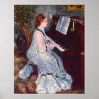 Woman at the Piano Poster