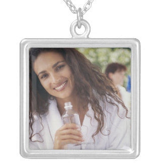 Woman at the spa 2 jewelry