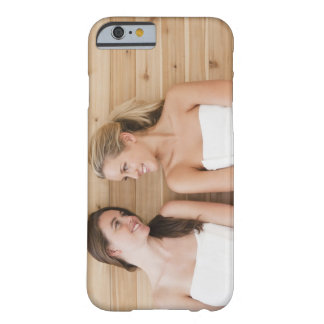 Woman at the spa barely there iPhone 6 case