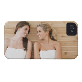 Woman at the spa Case-Mate iPhone 4 case