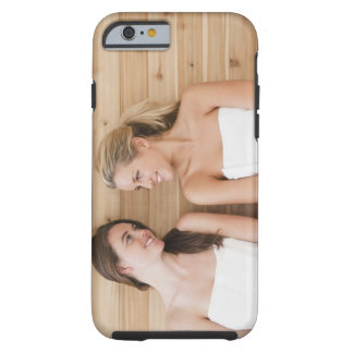 Woman at the spa tough iPhone 6 case