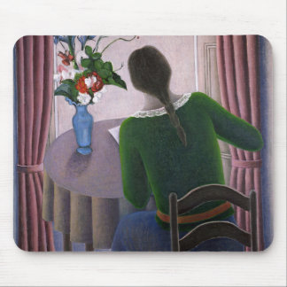 Woman at Window 1998 Mouse Mat