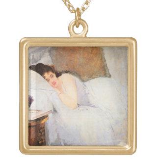 Woman Awakening, 1876 (oil on canvas) Pendant