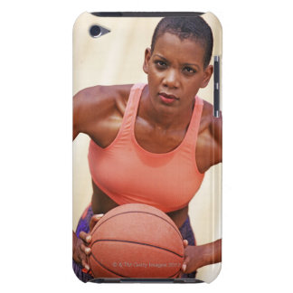 Woman basketball player barely there iPod cover