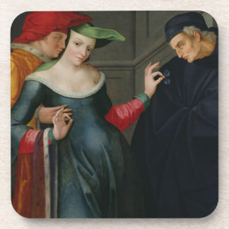 Woman Between Two Ages Coaster