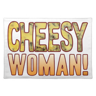 Woman Blue Cheese Placemat
