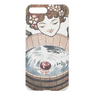 Woman Bobbing For Apples Halloween Party iPhone 7 Plus Case