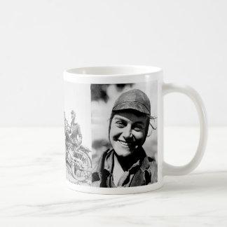 Woman can – if she will classic white coffee mug