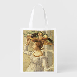 Woman carrying Fruit, from the Birth of St. John t
