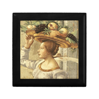 Woman carrying Fruit, from the Birth of St. John t Gift Box