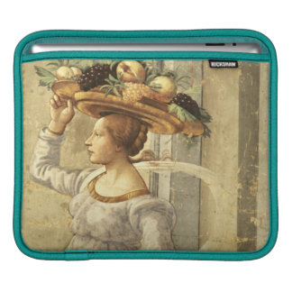 Woman carrying Fruit, from the Birth of St. John t iPad Sleeves