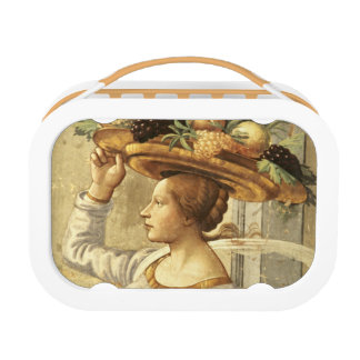 Woman carrying Fruit, from the Birth of St. John t Lunch Box