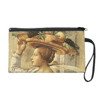 Woman carrying Fruit, from the Birth of St. John t Wristlet