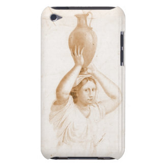 Woman Carrying Jug 1820 Barely There iPod Covers