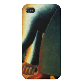 Woman Cutting, c.1900 iPhone 4 Cases