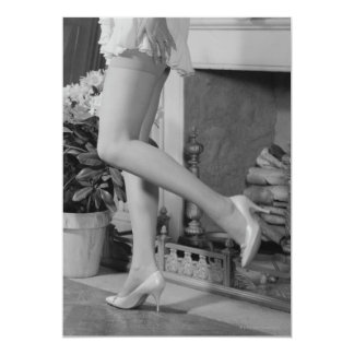 Woman Dancing Card