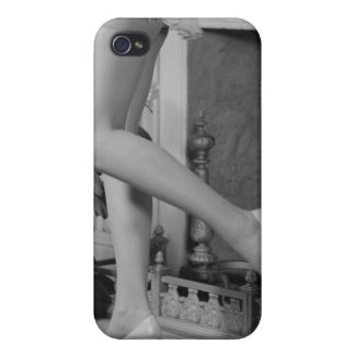 Woman Dancing iPhone 4 Cover