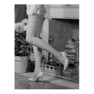 Woman Dancing Postcard