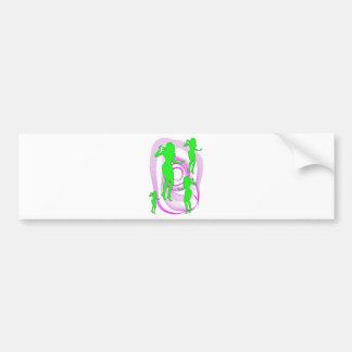 Woman-danz Bumper Sticker