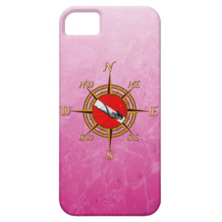 Woman Diver And Compass Case For The iPhone 5