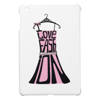 Woman dress from words I love fashion iPad Mini Covers