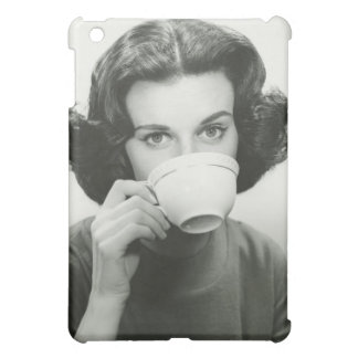 Woman Drinking Cover For The iPad Mini