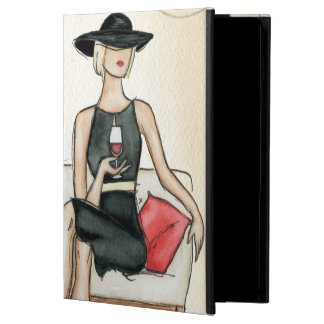 Woman Drinking Red Wine Case For iPad Air