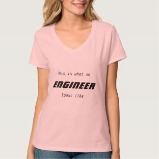 Woman engineer shirt