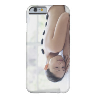 Woman enjoying lastone therapy barely there iPhone 6 case