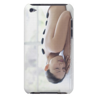 Woman enjoying lastone therapy iPod touch case