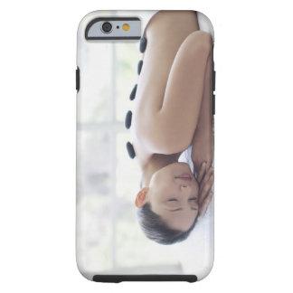Woman enjoying lastone therapy tough iPhone 6 case
