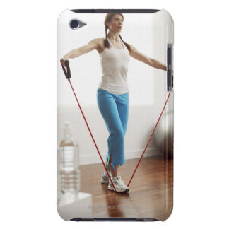Woman Exercising Barely There iPod Case