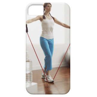 Woman Exercising iPhone 5 Case